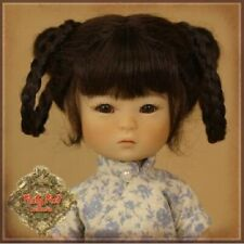 HD0039A Ten Ping Brunette Mohair 5.5 in Wig Ruby Red Galleria Doll  Tonner Tyler