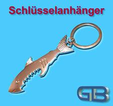 Schlüsselanhänger, Taschenanhänger, Flaschenöffner, Schlüsselring, Angler, Fisch
