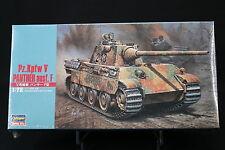 XO161 HASEGAWA 1/72 maquette tank char 31140 MT40 700 German Army Pz.Kpfw V NB