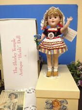 "🌷Rare 14"" Shirley Temple Heidi Antique Doll Made  Danbury Mint, Box🌷"