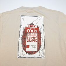 LOCALS ONLY HOT PORTUGUESE SAUSAGE PACKAGED TEE T SHIRT Sz Mens M