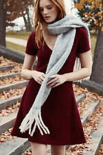 New Anthropologie Wine, Seamed Boiled Wool Dress ~ By Sparrow / Size XL