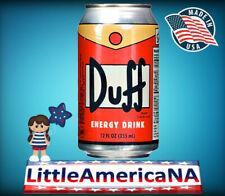 DUFF - THE SIMPSONS 355 ML, BIBITA AMERICANA, AMERICAN DRINK, MADE IN USA
