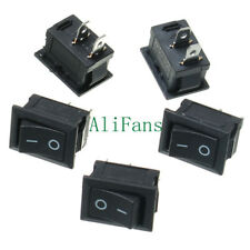 5PCS KCD1-101 2Pin ON OFF Toggle SPST Switch 125V 6A