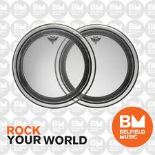 Remo PR-1322-00 Drum Head Powerstroke Pro 22'' 22inch Clear Skin Bass - Belfield