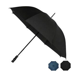 Lightweight Golf Umbrella Wind Resistant Fibreglass - Big Full Size 130cm Canopy