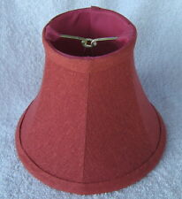 Rose Textured Fabric Chandelier Lamp Shade. traditional, any room