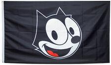 Felix The Cat Black Flag Cartoon Silent Film 3X5FT Banner US Free shipping