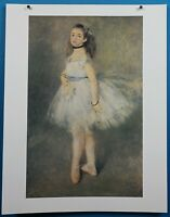 "Auguste Renoir ""The Dancer"" Print in 50 French Impressionist Masterpieces"