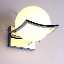 Modern Ball Shaped Wall Light Sconce Aisle Lamp Glass Lampshade Wall Lamp 7651HC