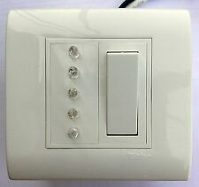 Tank Water Level indicator (5 Levels) + Empty & Overflow Alarm + 6 Nos. Sensors