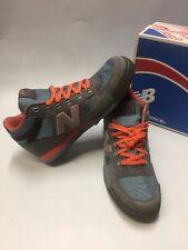New Balance Men's HRL710GO Gray/Orange/Light BLue HRL710GO Sneakers Shoes *NEW*