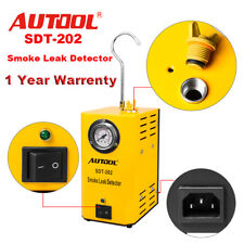 Autool Automotive 12V Car Diagnostic Smoke Leak Detector Pipe System EVAP Tool