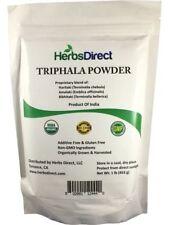 Herbs Direct, Triphala Powder, Organic, 1 lb