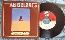 """ANGELERI / RICORDAMI - TRA FIORI ROSSI E CORALLI - 7"""" (Italy 1978)"""
