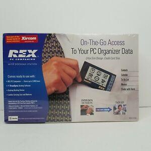Xircom Rex PC Companion w/ Docking Station REX-3-DS Microsoft Outlook New Sealed