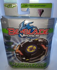 New 2003 Beyblade V Force Magnacore A-47 Flash Leopard