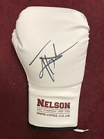 Johnny Nelson hand signed boxing glove world champion RARE COA