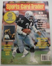 Sports Card Trader Magazine Bo Jackson & Muhammad Ali February 1991 063015R2