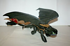 """How to Train Your Dragon Roaring Toothless Big 17"""" Long Spin Master 2017 Sounds"""