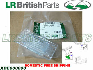 GENUINE LAND ROVER DOOR PANEL TRIM INTERIOR LAMP RANGE ROVER 03-12 OEM XDE000090