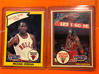 1990 STARTING LINEUP MICHAEL JORDAN CARDS, ROOKIE YEAR 1984