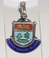 Edwards Islands Flag Souvenir 1.8g Sterling Silver Charm Enamel Shield Prince