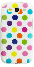 Samsung Galaxy S3 Polka Dot Case / Cover  - Multi-colour Dots