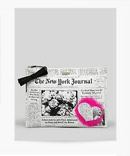 "KATE SPADE NEW YORK JOURNAL ""OOH LA LA LARGE BELLA"" POUCH CLUTCH NEWSPAPER *NEW*"