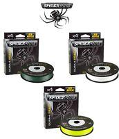 SPIDERWIRE dura-4 tressé fil tous coloris / toutes les tailles BROCHET CARPE MER