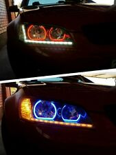 Holden VE Commodore series 2 SV6 headlights with halo rings and DRLs