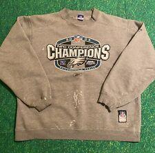 VTG Philadelphia Eagles XXXIX Super Bowl Sweatshirt 2004 Conference Champions L