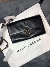MARC JACOBS Black Leather Cross Body Bag RRP £476