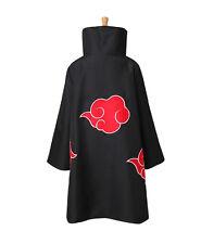 Brand Anime NARUTO Uchiha Itachi Cosplay Costume Akatsuki Ninja Wind Coat Cloak