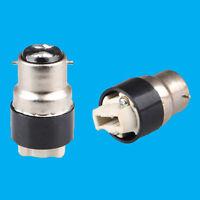 4x Bayonet BC B22 To G9 Halogen or LED Light Bulb Adaptor Lamp Socket Converter