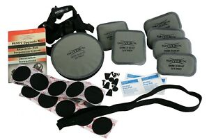 """Skydex PASGT Ballistic Helmet Pads Upgrade Kit, Chinstrap, 1"""" Thick Pads LWH"""