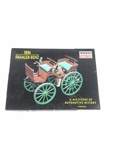 MINICRAFT 1886 DAIMLER-BENZ 1:16 Scale #11205 First Production Automobile
