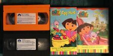 4X Dora City of Lost toy DVD Rhyme and Riddle VHS Egg Hunt Back Pack Adventure