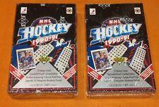 2 1990-91 Upper Deck Hobby High Series 36 Packs Box Sealed Ice Hockey Cards