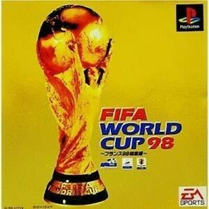 Video Game PS1 FIFA WORLD CUP 98 Playstation Japan