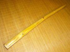 tolles unbemaltesTeakholz Didgeridoo 130 cm in E bell 8,2 x 7,8 cm toller Sound
