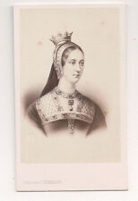 Vintage CDV Queen Joan of France, Duchess of Berry  E. Desmaisons Photo