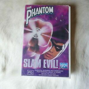 Paramount Pictures The Phantom SLAM EVIL! 1996 VHS Video Tape ACTION Superhero