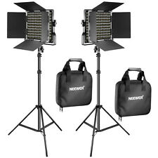 Neewer 2 Pieces Bi-color 660 LED Video Light and Stand Kit - 90092767