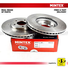 2X MINTEX FRONT DISC BRAKES MDC2133 FOR CHEVROLET VAUXHALL AMPERA ASTRA ZAFIRA