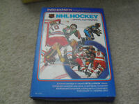 Vintage 1979 Mattel Intellivision NHL Hockey Video Game Cartridge in Box 1114