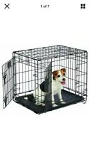 Life Stages LS-1624DD Double Door Folding Crate for Small Dogs 11 - 25lbs