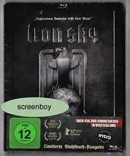 """Iron sky"" - scifi action comédie-blu ray steelbook-stahlbuch-rar poo"