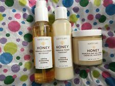 Earth to Skin HONEY MANUKA Full Size Calming Set Cleanser Toner & Day Cream