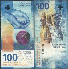 Swtizerland PNew B358 100 Francs 2019 UNC Hybrid Sg 80 @ Ebanknoteshop